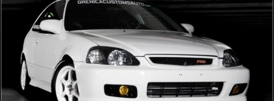 "<a href=""http://www.drenicacustomsauto.com/white-sir/""><b>White EK Type R Turbo</b></a><p></p>"