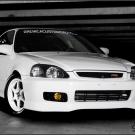 DCA White Turbo EK